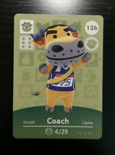 Animal Crossing Amiibo Cards #126 Coach