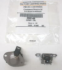 Whirlpool Kenmore Dryer Thermostat Thermal Fuse Cutoff 280148 AP3874047 PS991443