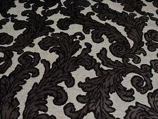 Unbranded Velvet Floral Upholstery Craft Fabrics