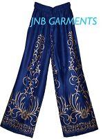 Ladies Aladin baggy Trouser Hippie gypsy yoga harem Boho INDIAN ETHNIC beach VTG