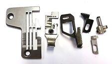 Rimoldi Orion 627 overlock, two needles, four thread parts set.