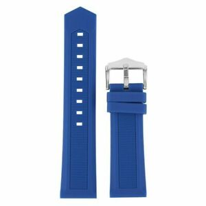 16-28MM Silicone Watch Band Strap Rubber Replacement Band Waterproof Sports Men