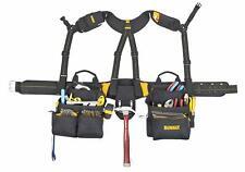 Electrician Framer Pocket Bag Tool Belt Carpenter Apron Construction Suspenders
