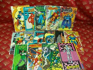 Vintage Lot of DC Comics Super Powers Collection Package Cards