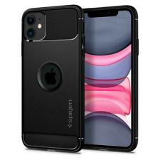 iPhone 11 Case, Spigen Rugged Armor Cover Case - Matte Black