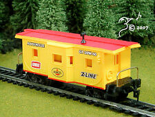 Pennzoil Little Red and Yellow Caboose Ho Scale 1:87 by Model Power