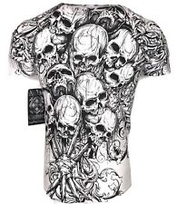 XTREME COUTURE by AFFLICTION Men T-Shirt THE ACCUSER Skull Biker MMA UFC S-4X$40