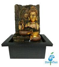 ZENINFLUX Buddha Hand Gestures Indoor Fountain,Tabletop Water Fountain Lighting