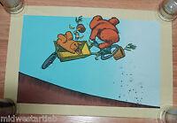 Jay Ryan Art Print Cargo Flip Serigraph S/# 170 Skateboard Poster Bike Thrasher