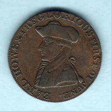 Great Britain - Hampshire - Emsworth. 1794 Halfpenny Token..  Spear to left.. VF