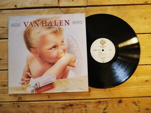 VAN HALEN 1984 LP 33T VINYLE MINT COVER EX ORIGINAL 1984