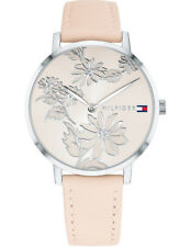 Tommy Hilfiger Silver Ladies Watch Model 1781919 Leather 7613272273701