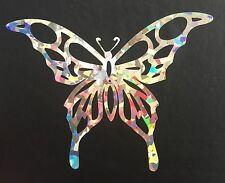 Butterfly Crystal Holographic Car Vinyl Decal Sticker Window Laptop 09-62