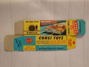 Corgi Toys - The Man From Uncle 497 - outer box - original