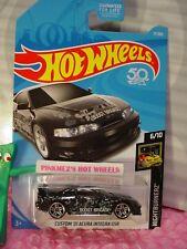 CUSTOM '01 ACURA INTEGRA GSR #17 fifty✰Black;Skull✰NIGHTBURNERZ✰2018 Hot Wheels