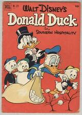 Four Color #379 March 1952 VG Donald Duck Southern Hospitality