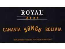 Royal Samba Canasta Bolivia Playing Cards From Mr Toys