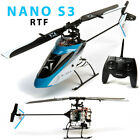 Blade BLH01300 Nano S3 RTF Helicopter w/ AS3X & SAFE Technology