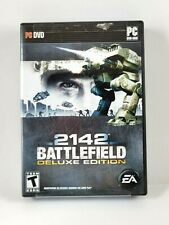 Battlefield 2142: Deluxe Edition (PC DVD 2008) Disc, Case and Manual EA Software