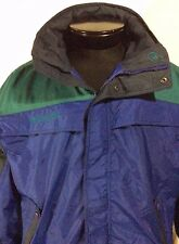 Blue, Green & Black Columbia Winter Jacket Large