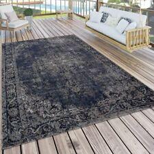 In- & Outdoor-Teppich Mit Orient-Muster, Für Balkon Und Terrasse, In Blau