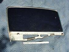 66 Ford T-bird Tbird LEFT DOOR WINDOW TINTED GLASS TINT FRAME CHROME TRIM BEZEL