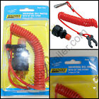 Universal Ignition Kill Switch Lanyard Watercraft Marine Seachoice 11681 Boat