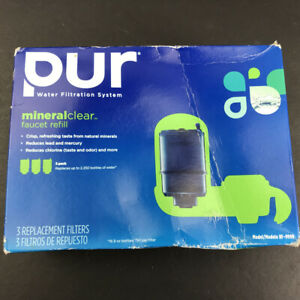 PUR MAXION MineralClear 3 Replacement Faucet Filters RF-9999 - 3 Pack