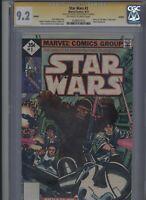 Star Wars #3 CGC 9.2 SS Howard Chaykin REPRINT 1977 Marvel Comics