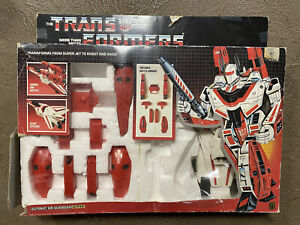Transformers G1 Jetfire Original With Box, Hasbro Takara 1985