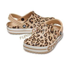 Classic Bayaband Leopard Animal Printed Crocs/Clogs