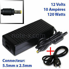 New 12V 10A Power Supply adapter for TV and LCD Monitor