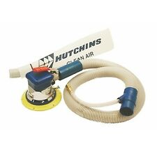"Hutchins Self-Generating Random Orbital Sander - 3/32"" Offset 6"" Hook Pad 8650H"