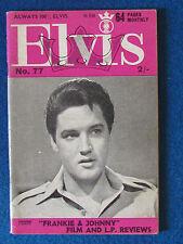 Elvis Presley -  Elvis Monthly Magazine - 7th Year - Issue 77 - June 1966