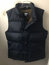 NEW Lands End Mens 600 Down Vest - M (navy)