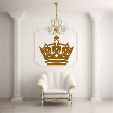 Wall Decal Sticker Design Crown Glans King Princess Living Room Modern I18