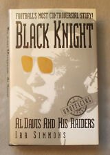 BLACK KNIGHT by Ira Simmons AL DAVIS AND HIS OAKLAND RAIDERS First Edition NFL