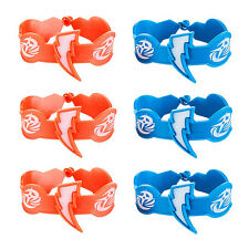 Power Rangers Party Supplies RUBBER WRISTBANDS Pack Of 6