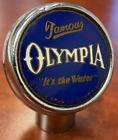 Oly beer ball tap knob Tumwater Washington marker handle vintage