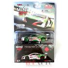 MINI GT HONDA NSX GT3 24 HOUR SPA CASTROL OIL 1/64 GREEN / WHITE MGT00051 chase