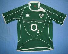 Ireland (IRFU) / 2007-2009 Home - CANTERBURY - JUNIOR rugby Shirt / Jersey. 10y