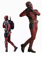 XCOSER Deadpool Cosplay Costume Outfit Belt Suit Props Halloween Party Adult XL