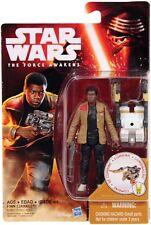 """100% Hasbro Disney Star Wars Force Awakens W2 3.75"""" # Finn Jakku"""