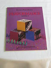 Bastien Piano Basics Level 1 Piano Music Book 0849752744