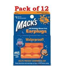 Mack's Earplugs, Kids Size, 6 Pair per box (Pack of 12)
