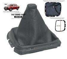 For Nissan Navara 05-12 Gear Stick Gaiter Genuine Leather with Plastic Frame