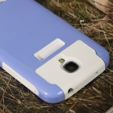 Shockproof Rugged Hybrid Rubber Hard Cover Case For Samsung Galaxy S4 i9500