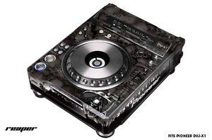 Skin Decal Wrap for Pioneer DVJX1 DJ Mixer CD Pro Audio DVJ X1 Part REAPER