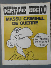 ►CHARLIE HEBDO N°49 - OCTOBRE 1971 - WOLINSKI