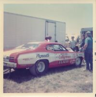 1970s Drag Racing-BUTCH LEAL-the CALIFORNIA FLASH-72 Duster-YORK US30 Dragway